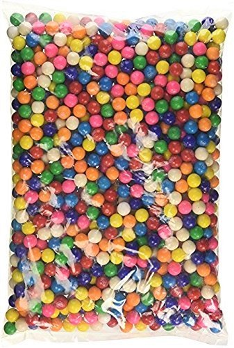 Dubble Bubble (13mm size) small-gum balls bulk- 2 Pounds ()