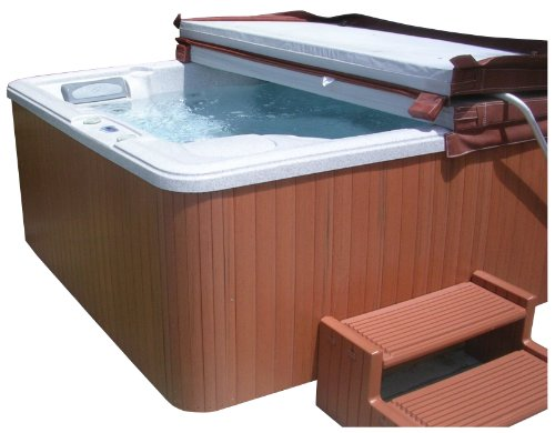 Highwood Flex Corner Spa Cabinet Replacement Kit, Redwood