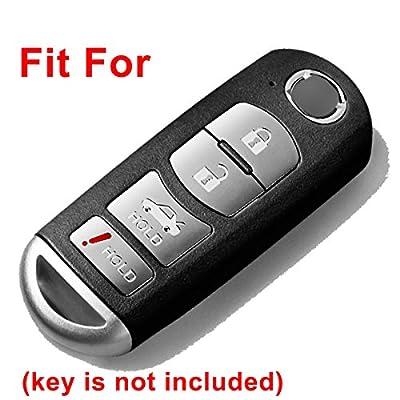 Alegender Qty(2) Full Protector Silicone Smart Key Fob Cover Case Protector Shell for 2020 2020 Mazda CX-5 CX-7 CX-9 MX-5 Miata Mazda 3 6 Smart Key Remote 4 Buttons: Automotive