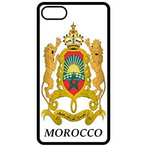 Morocco - Coat Of Arms Flag Emblem Black Apple For Samsung Galaxy S6 Case Cover - For Samsung Galaxy S6 Case Cover s Cell Phone Case - Cover