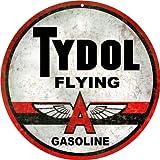 Tydol Flying A Gasoline Gas Station Reproduction Sign