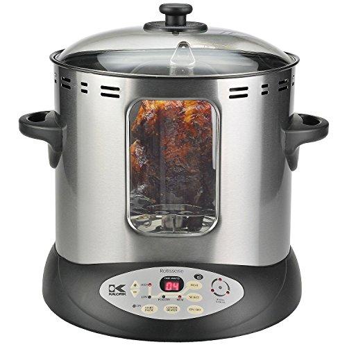 Kalorik DGR 31031 Stainless Steel 10-pound Rotisserie