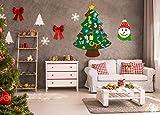 jollylife 3ft DIY Felt Christmas Tree Set Plus