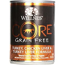Wellness Dog Food Core Turkey Chicken Lever T, 12.5 oz