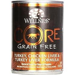 Wellness Dog Food Core Turkey Chicken Lever T, 12.5 oz