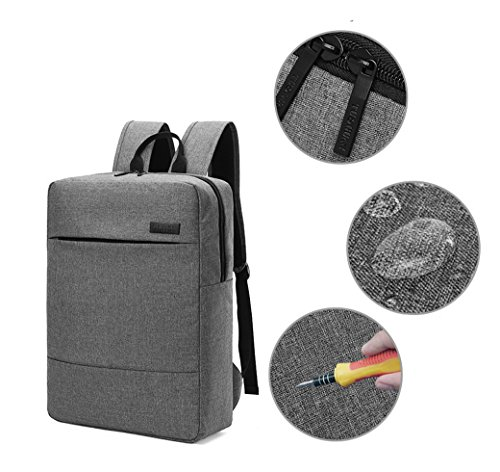 ACMEDE Laptop Rucksacke 16 Zoll Schulrucksack Wasserdichte Rucksacke Geeingnet für Notebook/Studenten/Laptop/Macbook/iPad/Computer (Khaki) Orange 0IxrmwA5