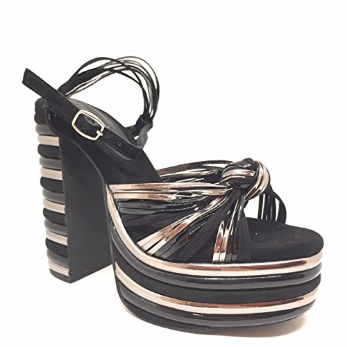 Jeffrey Campbell Andrea Pewter Black (37)
