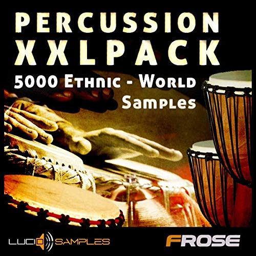 Percussion Instruments From Around The World! 1,13 GB / 5224 Samples Recorded In Studios, or Cut From Vinyls. World and Ethnic Percussion Sounds | Download ()