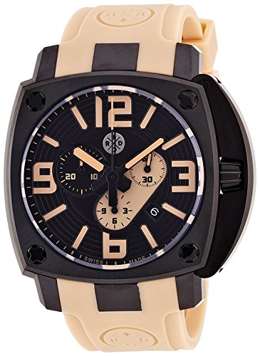 ROD watch 46MM iCONIC CHRONO-GRAPH i46C-BBE9001-A men's [regular imported - Rod Graph