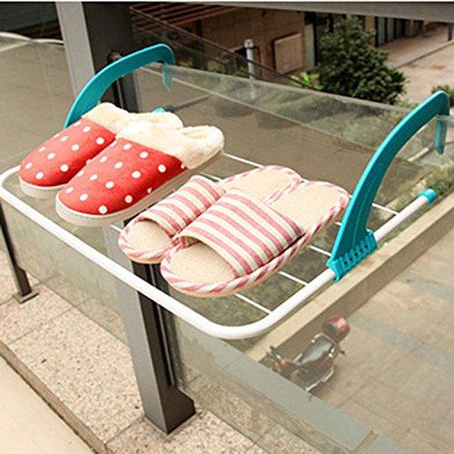 amazzang-window-radiator-towel-clothes-folding-airer-dryer-drying-rack-5-rail-bar-holder-blue