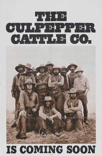 27 x 40 Culpepper Cattle Company Movie Poster