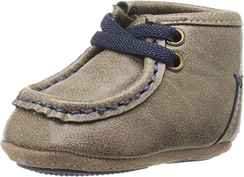 M&F Western Baby Boy's Smith (Infant/Toddler) Brown/Navy Boot]()