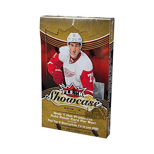 Hockey Hobby Pack - 2015-16 Upper Deck Fleer Showcase Hockey Hobby Box
