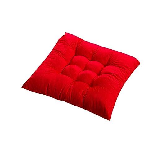 Soft Thicken Pad Cojín de silla Corbata en el asiento ...