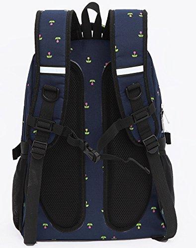 Pañalera para bebé impermeable. Mochila o bolsa de viaje con gran capacidad, para mamá y papá. Creada por Jun-Ying (varias opciones de color) morado morado azul