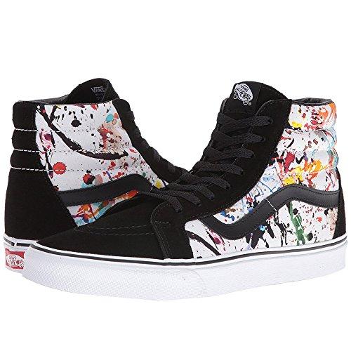 Snans Sk8 Hi Reissue (paint Splatter) Sneakers Multi / True White Taglia 3,5 Uomini / 5 Donne