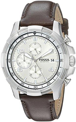 Fossil Men's FS5114 Analog Display Analog Quartz Brown Watch