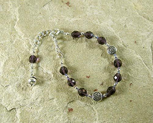 Cerridwen Prayer Bead Bracelet: Welsh Celtic Goddess of Transformation and - Goddess Prayer Beads