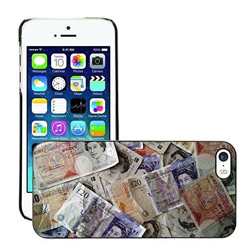 Hülle Case Schutzhülle Cover Premium Case // M00154398 Geld-Währung Finanzen Reichtum // Apple iPhone 5 5S 5G