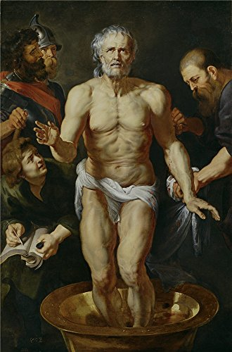 Oil Painting 'Rubens Peter Paul (Workshop) La Muerte De Seneca 1612 15', 18 x 27 inch / 46 x 69 cm , on High Definition HD canvas prints is for - Griffin Peter Sunglasses