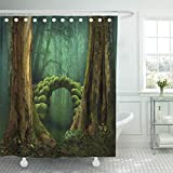 Pink Mossy Oak Shower Curtain Semtomn 72