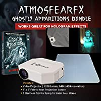 Atmosfearfx Ghostly Apparitions DVD Video Projector Kit with Hologram Screen