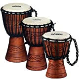 Nino Percussion NINO-ADJ2-XS Extra Small 7-Inch African Style Rope Tuned Djembe, Water Series