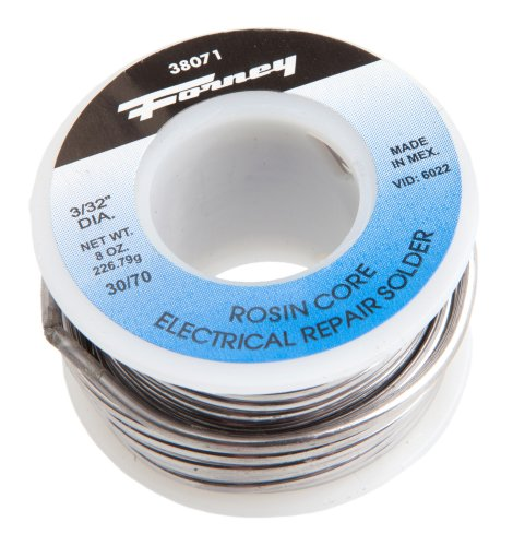 Forney 38071 Rosin Core 30/70 Solder, 3/32-Inch, 1/2-Pound by Forney (Image #2)