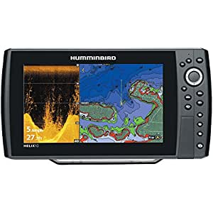 Humminbird 409970 1 helix 10 di gps fishfinder for Phone fish finder