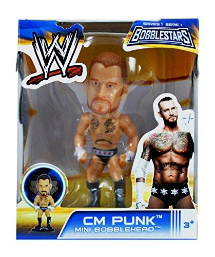 WWE 3.5'' Bobble Head Figures- CM Punk by WWE