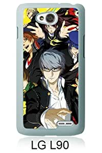 LG L90 Screen Case ,Persona 4 Golden White LG L90 Cover Fashion And Unique Designed Phone Case