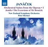 Janacek: Orchestral Suites from the Operas, Vol. 1 - Jenufa - Suite & The Excursions of Mr. Broucek - Suite by New Zealand Symphony Orchestra, Leppanen (2009-02-24)