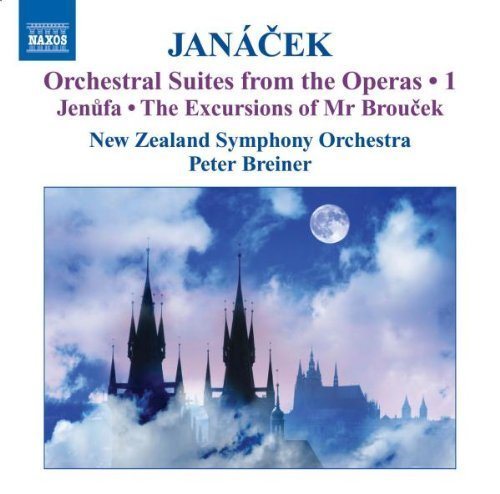 Janacek: Orchestral Suites from the Operas, Vol. 1 - Jenufa - Suite & The Excursions of Mr. Broucek - Suite by New Zealand Symphony Orchestra, Leppanen (2009-02-24) by