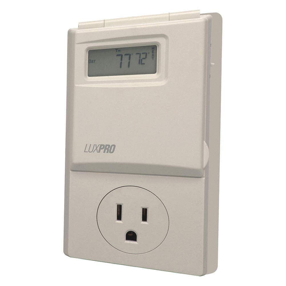 Luxpro PSP-300 Heating and Cooling Programmable Outlet Thermostat