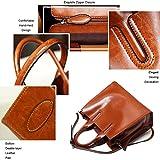 COCIFER-Women-Top-Handle-Satchel-Handbags-Shoulder-Bag-Top-Purse-Messenger-Tote-Bag