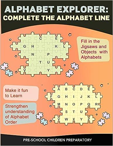 Alphabet Explorer Complete The Alphabet Line Preschool Worksheets