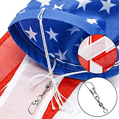 Boao 2 Pieces Windsock Colorful Hanging Decoration Windsock Waterproof Material for Outdoor Hanging(4 Inch, Stars and Stripes) : Garden & Outdoor