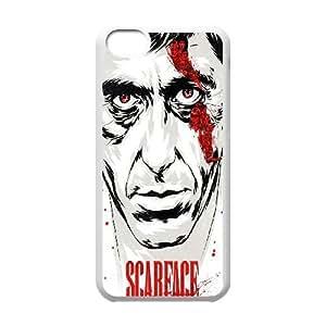 iPhone 5C Phone Case White Al Pacino Scarface ZBC377082
