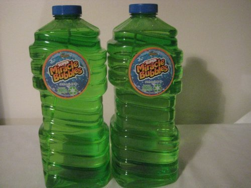 Super Miracle Bubbles 64 oz. (2 pack)