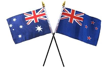 Australia Australian & New Zealand Flags 4