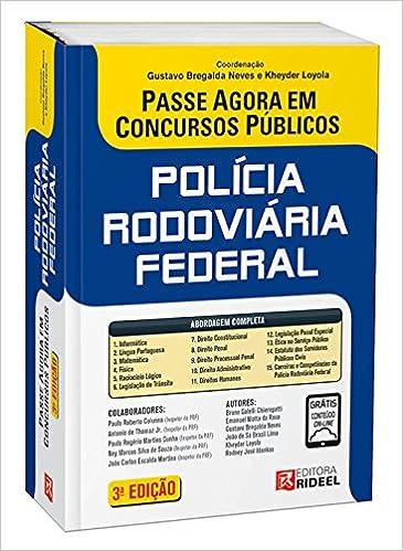 Book Passe Agora. Policia Rodoviária Federal