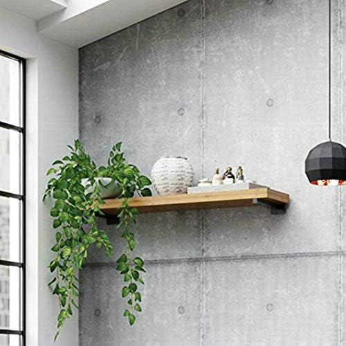 鉄の壁三角形のブラケットブラケット本棚ウォールラック壁掛け下見板張り耐力サポートシェルフシェルフサポート