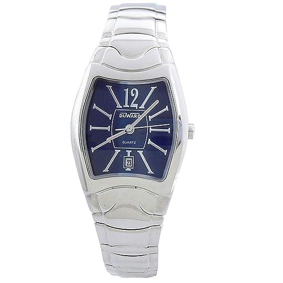 DUWARD Reloj para Mujer Analógico Cuarzo con Correa de Acero Inoxidable D2407315: Amazon.es: Relojes