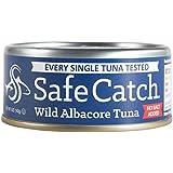 Safe Catch Wild Albacore Tuna, No Salt Added, 12 Count