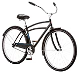Schwinn Gammon Men's 18 Cruiser Bicycle, 18-Inch/Medium, Black
