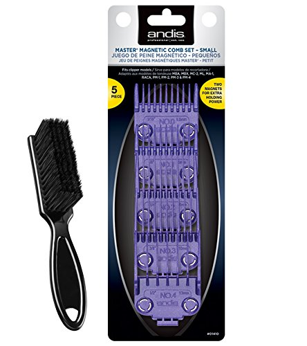 Price comparison product image Andis Master Dual Magnet 5-Comb Set with a BeauWis Blade Brush