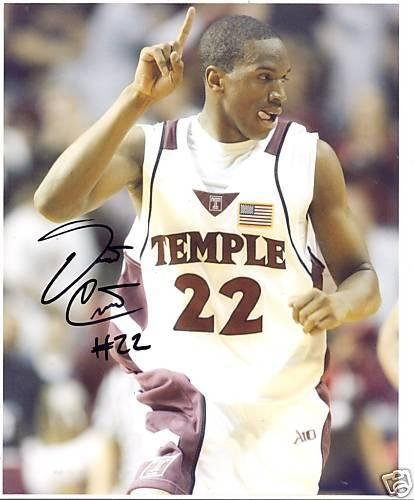 Dionte Christmas.Dionte Christmas Temple Owls Signed 8x10 Photo Autographed College