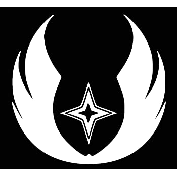 Amazon Ur Impressions The Gray Jedi Order Decal Vinyl Sticker