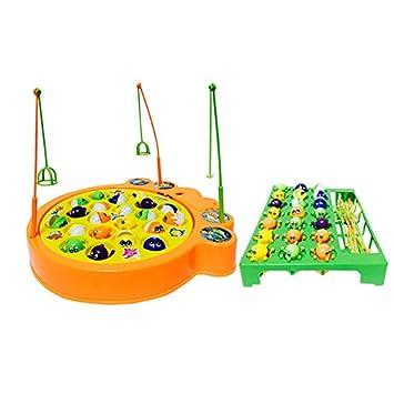 juegos de pesca electrnico musical juguete familia educativo con pulpo y peces para nios nias
