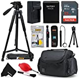Professional Accessories Kit for Canon PowerShot G1 Mark III G5X G7X G9X G7 X Mark II G9X Mark II SX620 HS SX730 HS SX720 HS Digital Cameras includes 32GB SD Card, NB-13L Battery, Case, Tripod + More